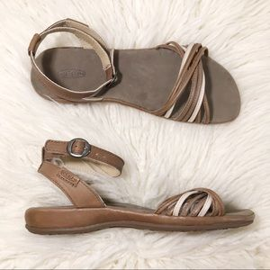 Keen Emerald City II Ankle Strap Sandals 10 Brown